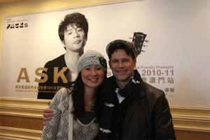 ASKA Faces Macau